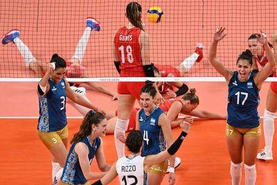 Argentina y China están eliminadas y Brasil lidera en voleibol femenino