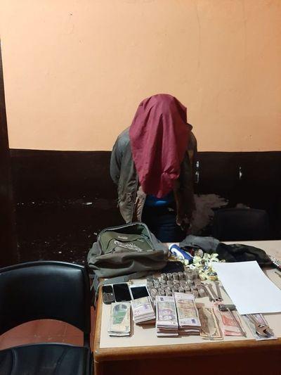 Cae maleante con seis órdenes de captura en Paso Yobái