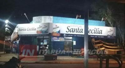 GRAL. DELGADO: LOCAL COMERCIAL «SANTA CECILIA» ES BLANCO DE DELINCUENTES