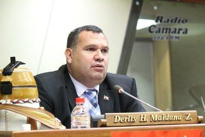 """Horacio Cartes, presidente de la ANR: """"Todos queremos que sea, hay gran deseo de las bases"""", afirma diputado Derlis Maidana"""