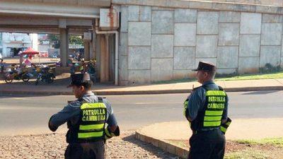 PATRULLA CAMINERA NO DEJARÁ DE HACER CONTROLES EN EL CASCO URBANO DE CDE