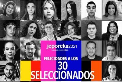 Jeporeka 2021: Un luqueño entre los 30 jóvenes seleccionados •