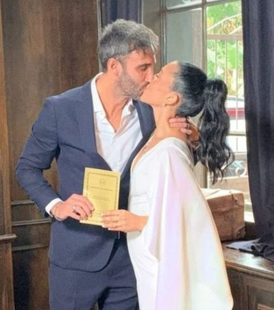 Para las ex's que lo miran por tv: Se casó Roberto Nanni
