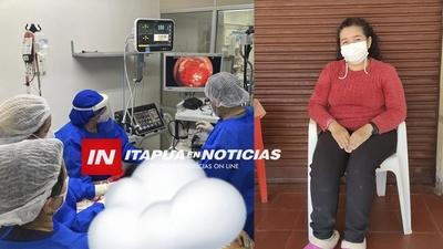 PACIENTE AGRADECE LA AVANZADA TECNOLOGÍA Y TRATO EN EL HOSPITAL DE ENCARNACIÓN.