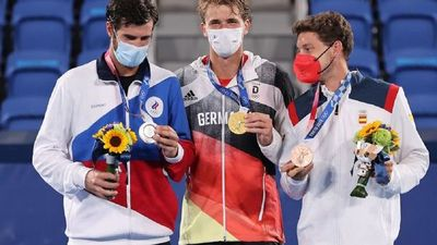 Alexander Zverev, campeón olímpico de tenis
