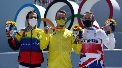 Daniel Dhers suma en ciclismo BMX la tercera medalla para Venezuela en los Juegos Olímpicos