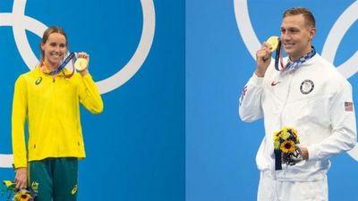 Emma McKeon y Caeleb Dressel, los nadadores que han copado más medallas en unos Olímpicos sedientos de estrellas