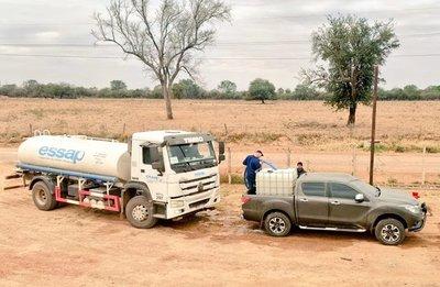 Essap y SEN asisten con agua a más de 80 comunidades indígenas en el Chaco