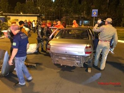 Detienen a PARAGUAYO con MARIHUANA en el PUENTE