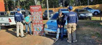 Recuperan vehículo denunciado como robado en CDE