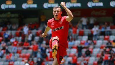 Braian Samudio debuta con gol en el Toluca