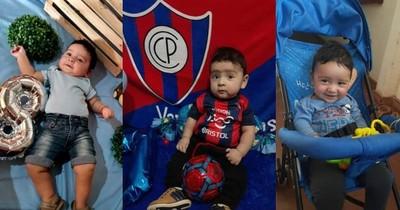 La Nación / Todos por Axel: el pequeño diagnosticado con AME necesita de nuestra ayuda