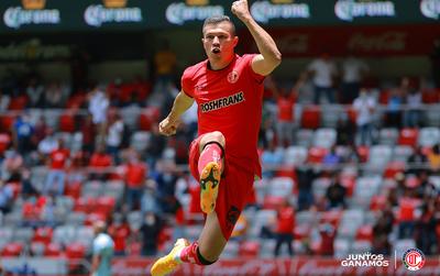 Debut goleador de Braian Samudio en Toluca