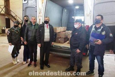 Enhorabuena: Mientras la Recaudación mejora, la Administración de Aduanas ayuda a la comunidad en Pedro Juan Caballero