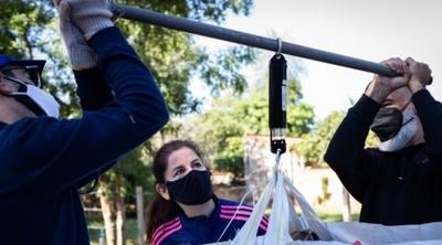Vecinos de Luque recuperaron más de 34.000 kilos de reciclables en 10 semanas