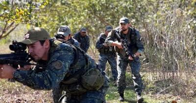 La Nación / Otros miembros del grupo criminal podrían estar en la zona de enfrentamiento
