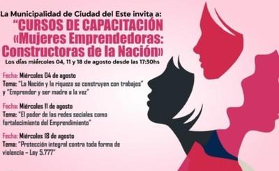 Secretaría de la Mujer impulsa capacitación para mujeres emprendedoras