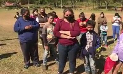 Torneo benéfico con aglomeración y detenciones en Limpio