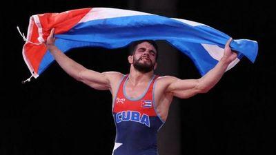 Cubano Luis Alberto Orta logra el oro en lucha grecorromana