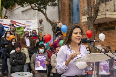 Johanna Ortega ratificó su candidatura a la intendencia de Asunción