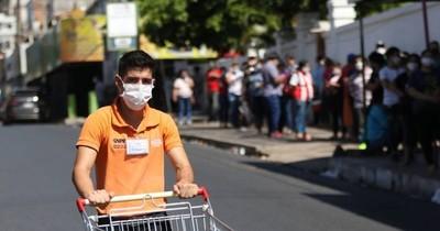La Nación / Unos 200 puestos ofrece cadena de supermercados