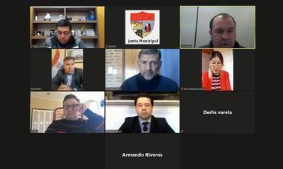 Concejales de Coronel Oviedo seguirán con sesiones vía Zoom – Prensa 5