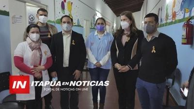 INTENDENTE MUNICIPAL INVITA A LA CIUDADANÍA A HACER USO DE LOS SERVICIOS EN EL PEDIÁTRICO.