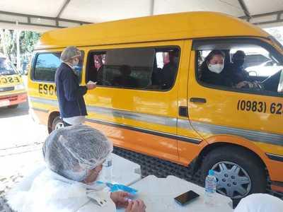 Primera jornada de aplicación de segunda dosis fue un éxito en Alto Paraná