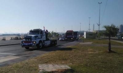 """Camioneros permanecerán en Asunción """"hasta que el proyecto de precio de flete sea aprobado y promulgado"""""""