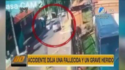 Madre e hijo fueron embestidos por un vehículo en Lambaré – Prensa 5