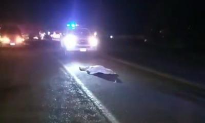 Conductor huye luego de arrollar y matar a un hombre de 75 años en Coronel Oviedo