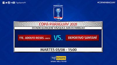 Más estrenos en la Copa Paraguay