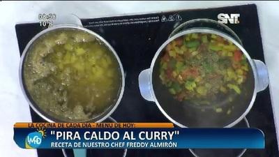 Cocina LMCD: Pira caldo al curry