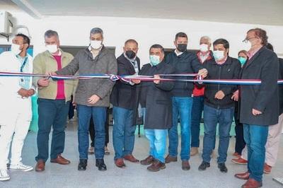 Salud: Abdo inaugura USF en Pilar