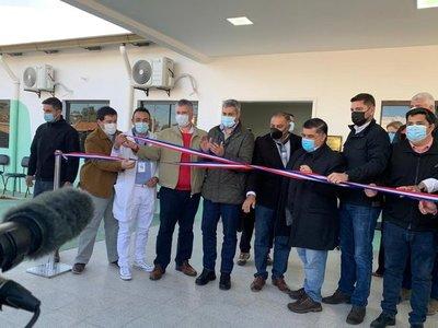 Presidente inaugura nueva USF para la atención primaria de la salud en Pilar