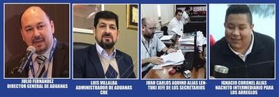 JEKARU HA ÑEMOKO CON LAS COIMAS DE LOS ARREGLOS ADUANEROS EN LAS QUINTAS DE LOS AMIGOS KUERA!!!