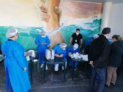 Más de 600 internos de Tacumbú se vacunan hoy contra el COVID-19