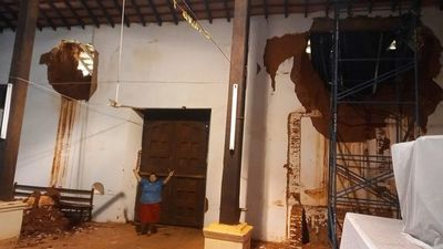 Burocracia retrasa restauración de emergencia del templo jesuita de San Joaquín