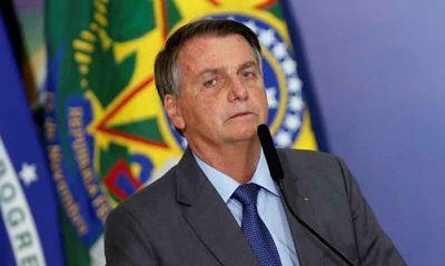 """Bolsonaro sube el tono contra el voto electrónico y advierte: """"No aceptaré intimidaciones"""""""