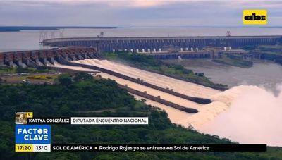 """Histórica bajante del río Paraná también impacta en los """"beneficios"""" paraguayos en Itaipú"""