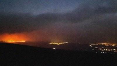 Alerta de evacuación en la Isla Grande de Hawái debido a incendios forestales