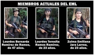 Madre, hija y nuera comandan ahora el grupo terrorista EML