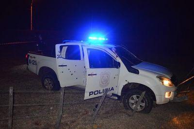 """Atentado en San Alfredo: objetivo de grupo criminal habría sido atacar retiro y policías que realizaban patrulla """"estuvieron en momento inoportuno"""""""