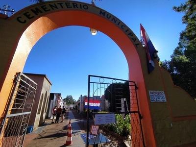 CAMPO SANTO MUNICIPAL EXTIENDE HORARIOS DE VISITAS