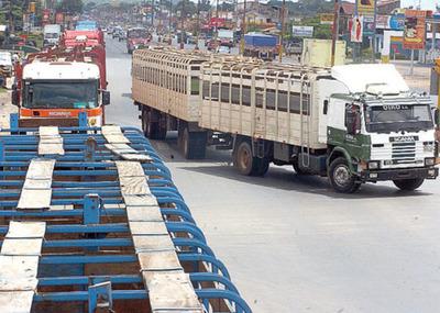 Paro de transportistas altera el mercado de haciendas gordas, pero el precio continúa firme