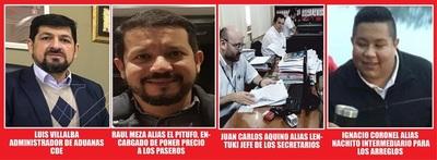 HASTA LOS SECRETARIOS GUA'U USURPADORES Y SINVERGUENZAS FACTURAN EN ADUANAS DE CDE