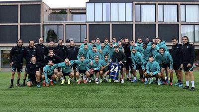 Eriksen regresa al Inter para seguir con su recuperación