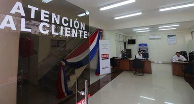 Millonario asalto a local de la ANDE en Caaguazú