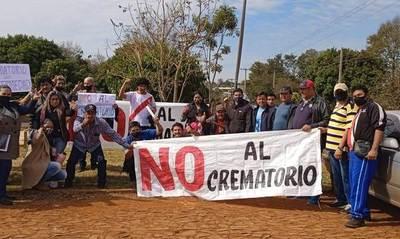 Pobladores piden a concejales que rechacen construcción de crematorio