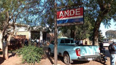 Asaltantes se llevan más de G. 400 millones de oficina de la ANDE